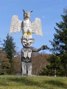 Totem Pole Eagle