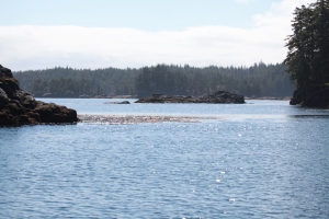 island scenery today