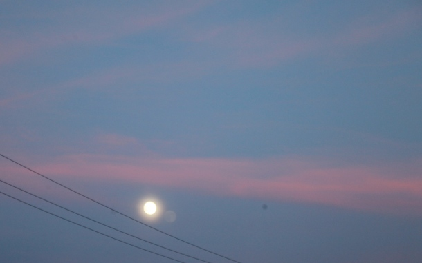 Moon and sunset 9.53 p.m. June 30th IMG_2896